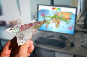 paper-airplane-money-showing-remittance